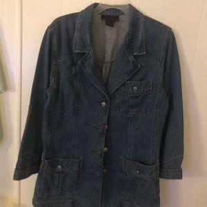 Denim and Company woman's jean jacket